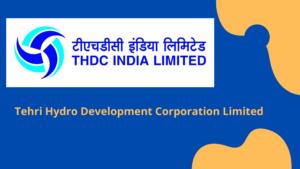 THDC Jobs 2020