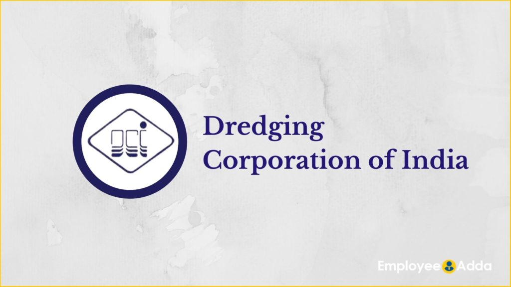 Dredging Corporation of India Recruitment