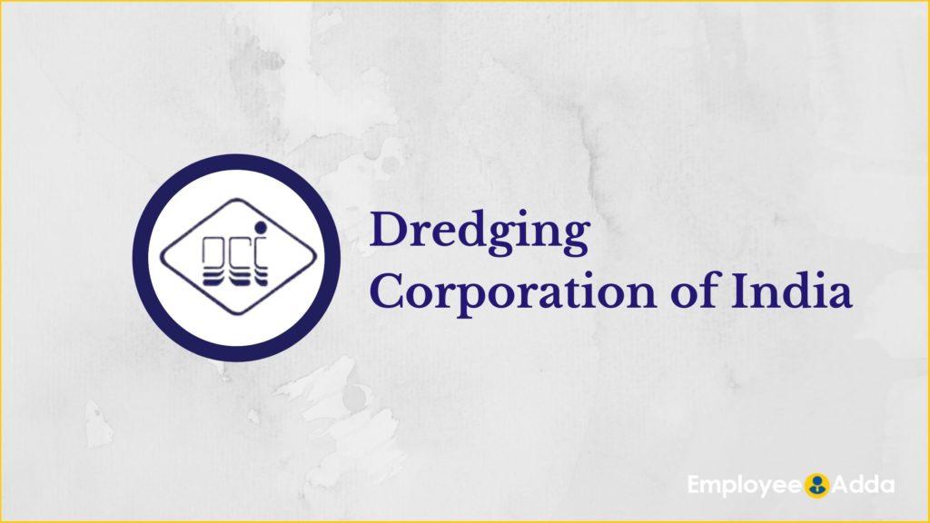 Dredging Corporation of India Recruitment