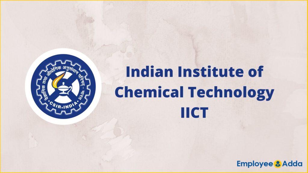 IICT Recruitment