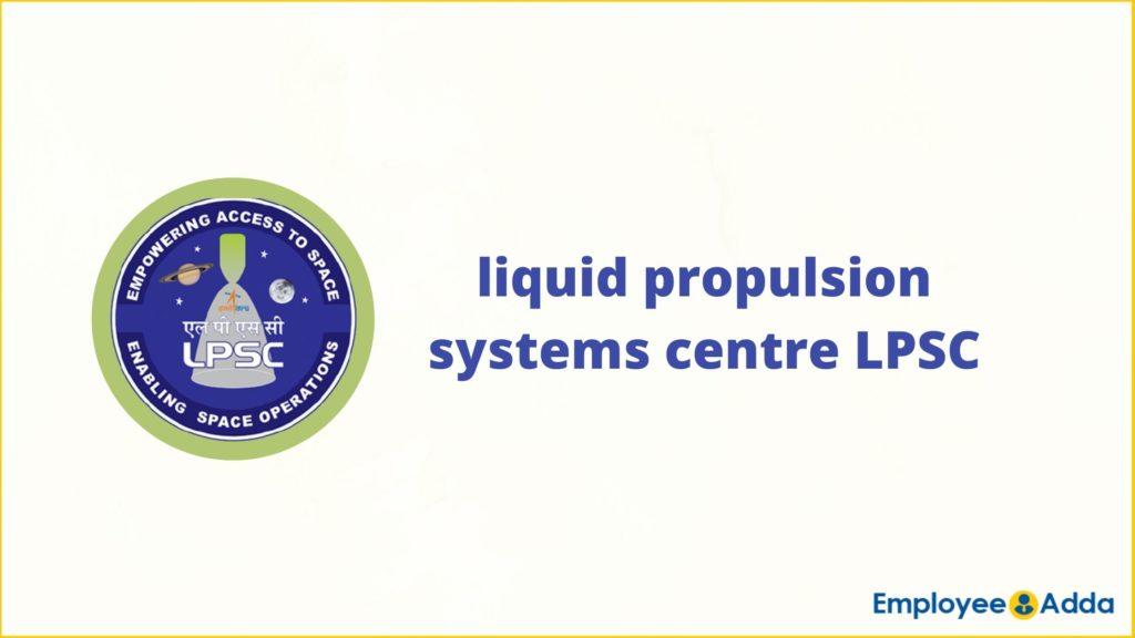 LPSC Recruitment