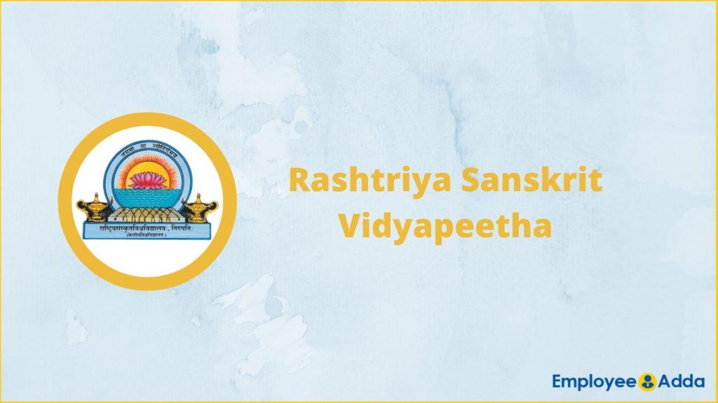 RSVP Tirupati Recruitment
