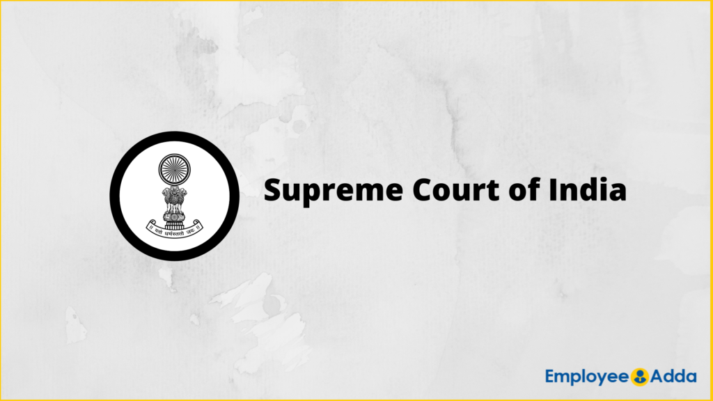 upreme Court of India Recruitment