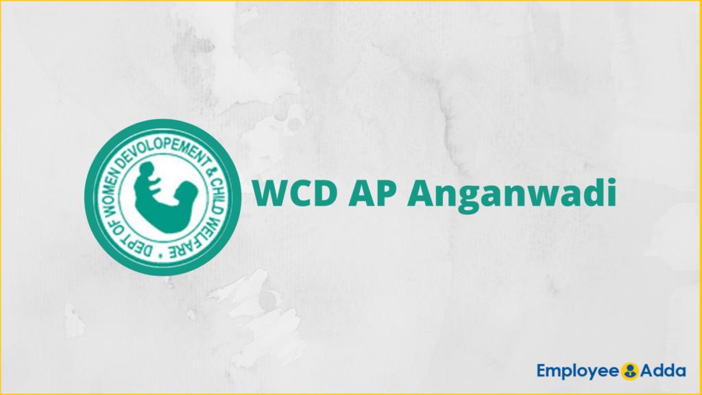 WCD AP Anganwadi Recruitment