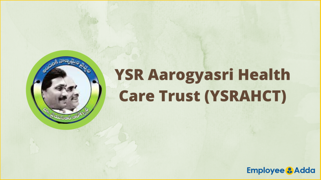 YSRAHCT Recruitment